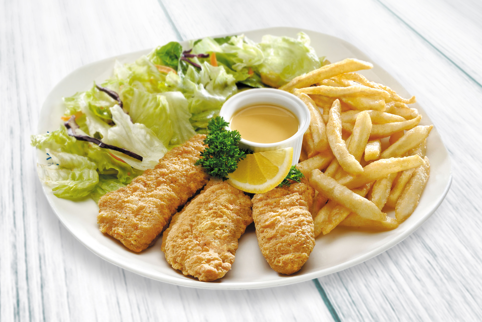Honeyed Chicken Strips