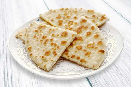 Basket Of Pita Bread